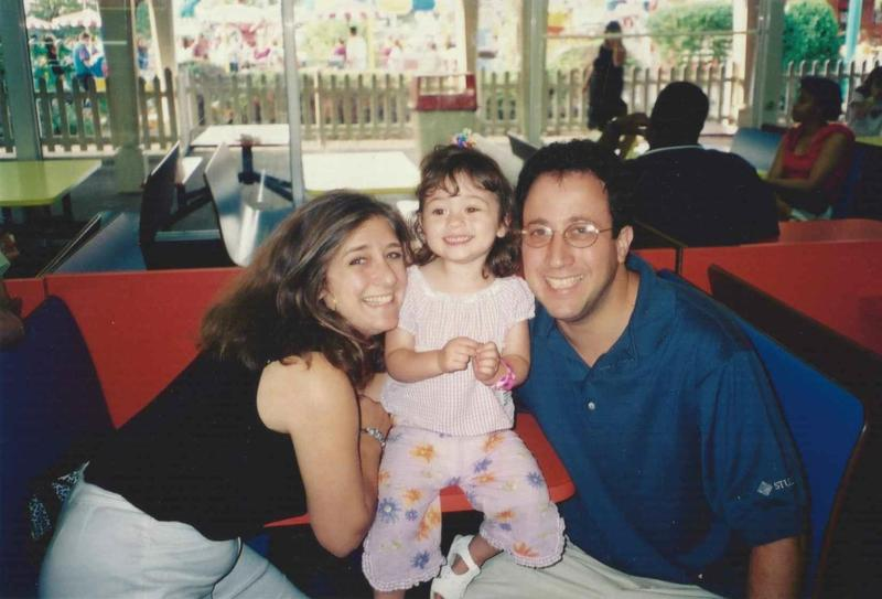 Jill Gartenberg with her husband James Gartenberg, who died in the 9/11 attacks, and their daughter Nicole. (Courtesy Jill Gartenberg Pila)