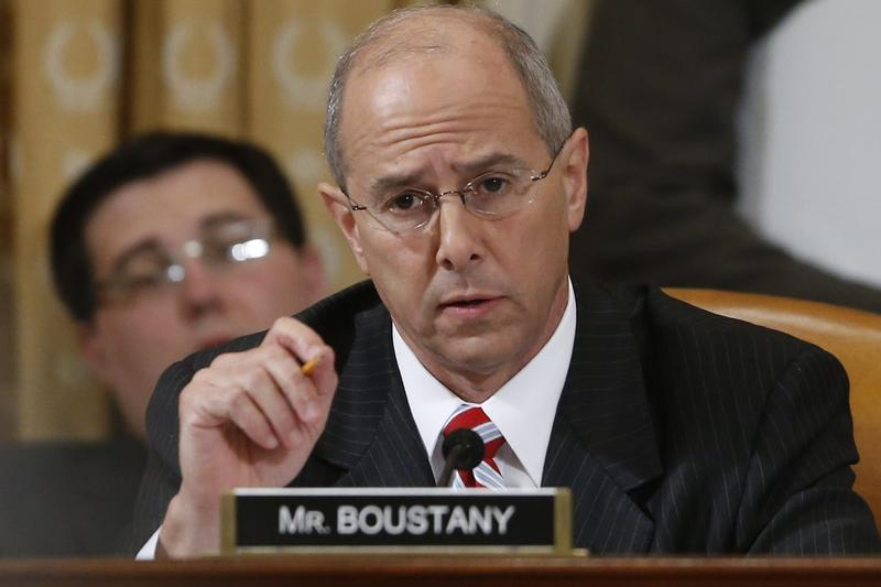 Rep. Charles Boustany, R-La., during a hearing at the House Ways and Means Committee on Capitol Hill, in Washington on May 17, 2013. (Charles Dharapak/AP)