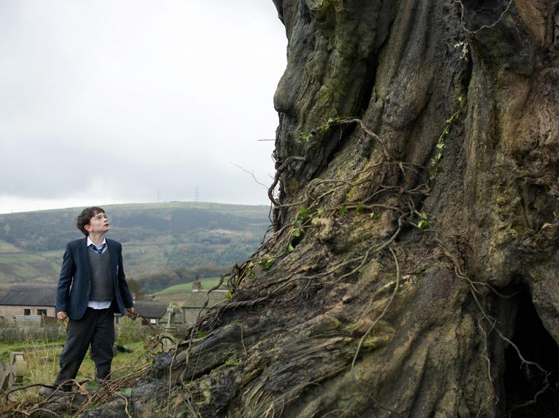 Lewis MacDougall as Connor in <em>A Monster Calls</em>.
