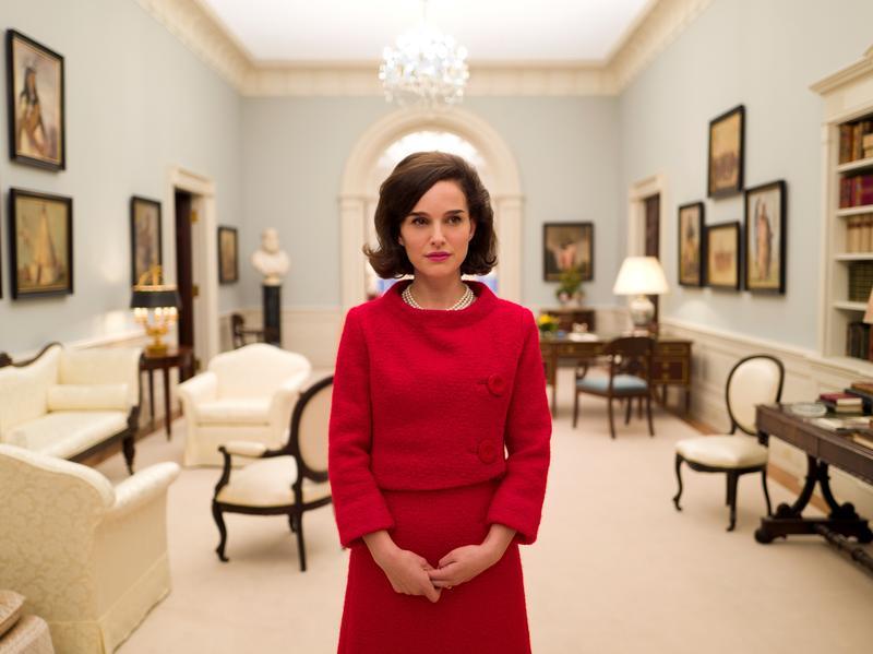 Natalie Portman is Jackie Kennedy in the biopic <em>Jackie</em>.
