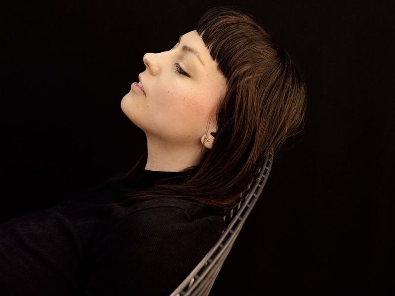 """""""I was a cheerleader in high school, for example, and I quit because I was not very good at being in a good mood when I needed to be,"""" Angel Olsen says. """"I'm still a cheerleader in a lot of ways."""""""