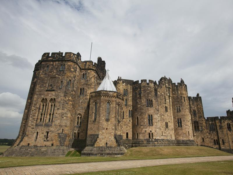 Alnwick Castle in England houses a garden of poisonous plants.