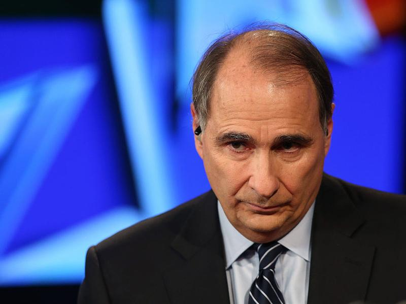 David Axelrod attends a Democratic presidential debate sponsored by CNN and Facebook in Las Vegas last October.