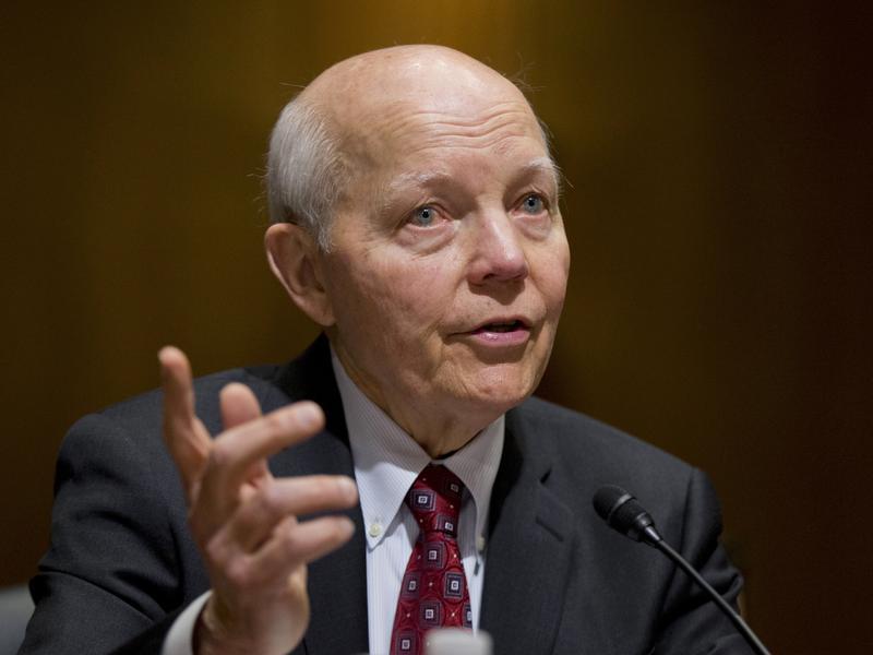 Internal Revenue Service Commissioner John Koskinen.
