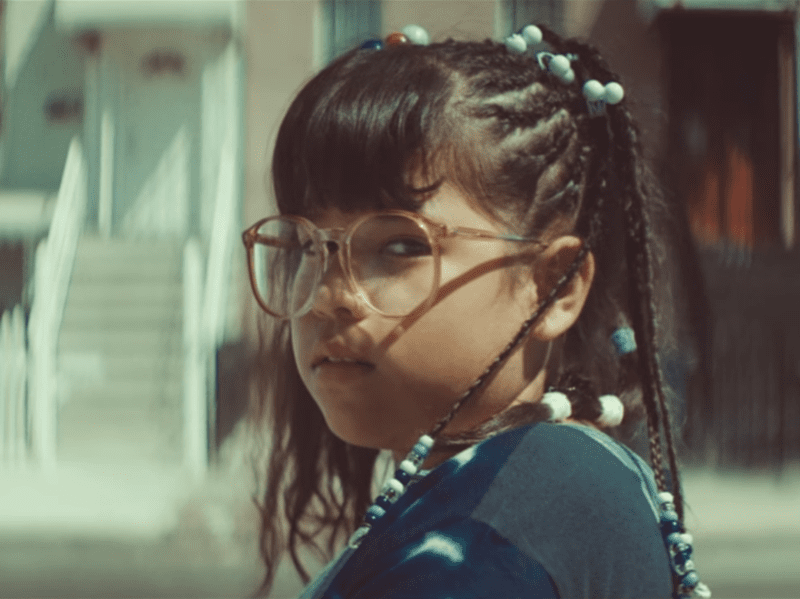 "Sarai Isaura Gonzalez stars in the music video to Bomba Estereo's ""Soy Yo."""