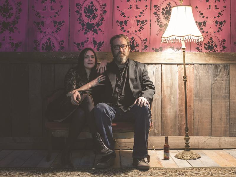 The Handsome Family's Rennie and Brett Sparks split songwriting duties. Rennie writes the lyrics, then Brett puts her words to music.