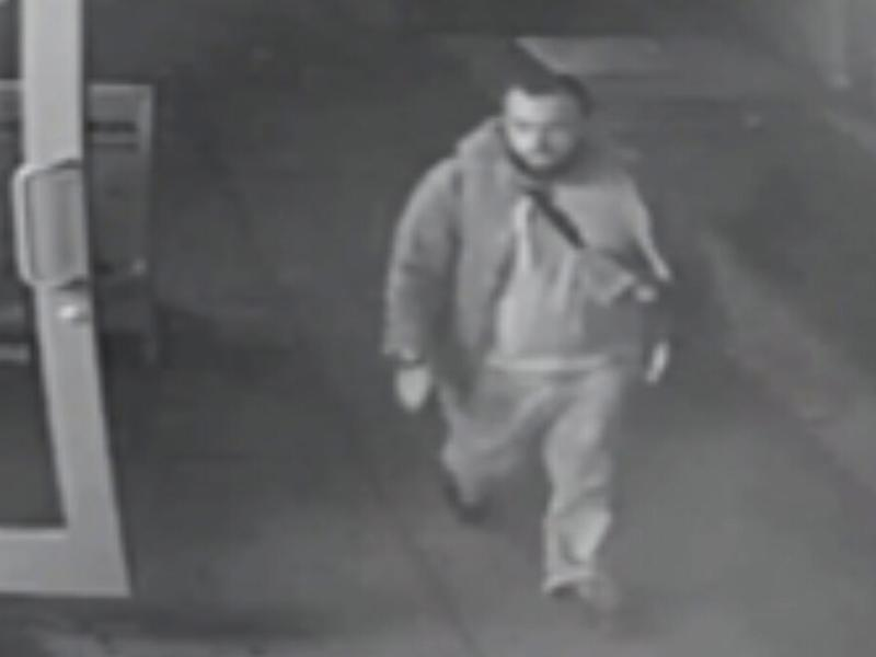 This frame from surveillance video released by the New Jersey State Police shows Ahmad Khan Rahami, who was taken into custody on Monday.