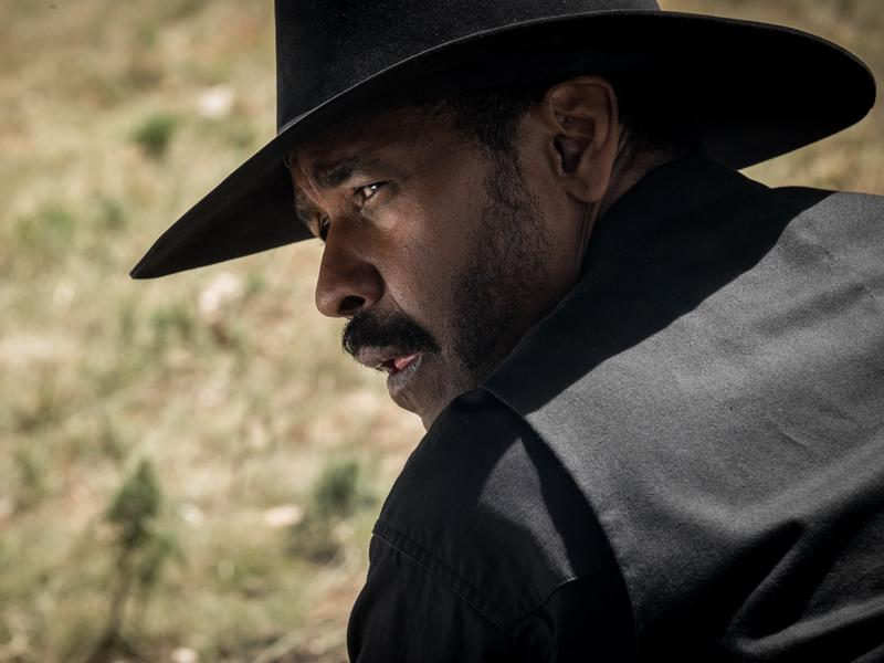 Denzel Washington stars in <em>The Magnificent Seven</em>.