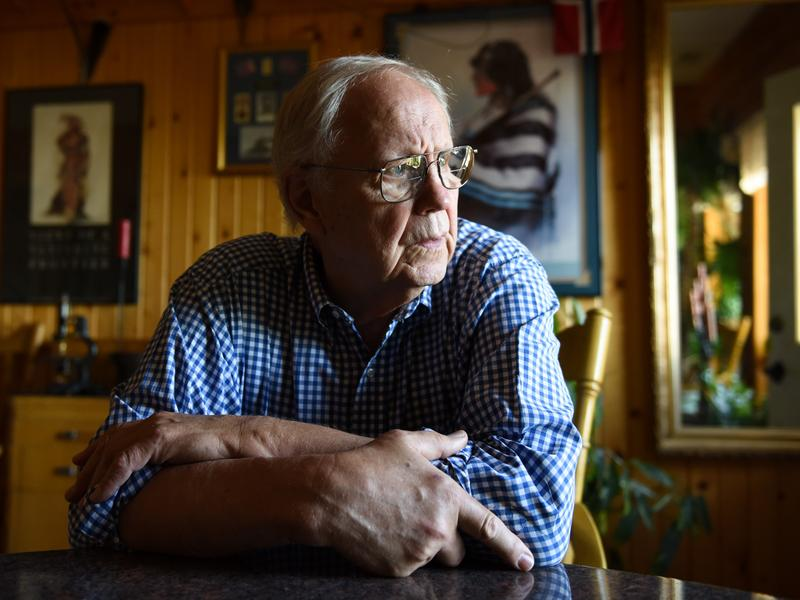 Dr. Lars Aanning, seen at his home outside Yankton, S.D., said he lied to protect a colleague in a malpractice case. Now, Aanning is a patient safety advocate.