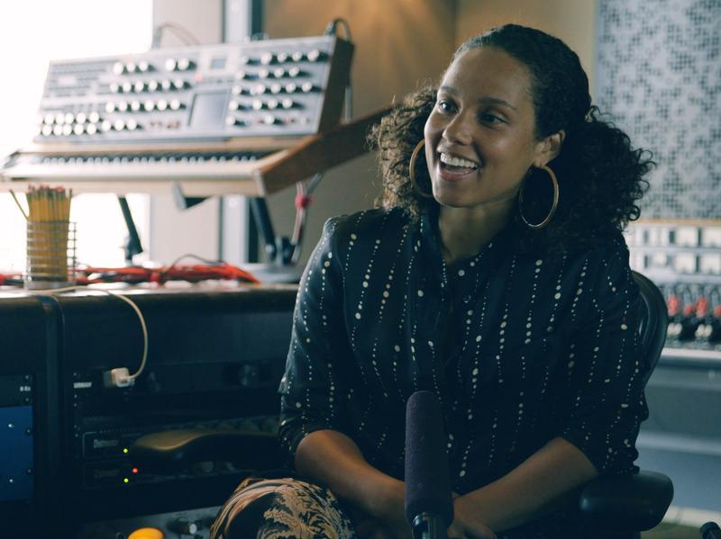 Alicia Keys speaks with Noteworthy's Jason King at Jungle City Studios in New York City.