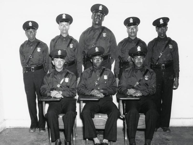 In 1948, eight African-American men joined the Atlanta police force. They could not drive squad cars, step foot in police headquarters, or arrest white citizens. They are the inspiration for Thomas Mullen's new novel, <em>Darktown.</em>