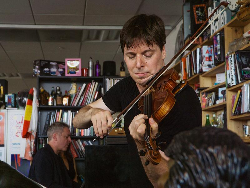 Tiny Desk Concert with Joshua Bell and Jeremy Denk.