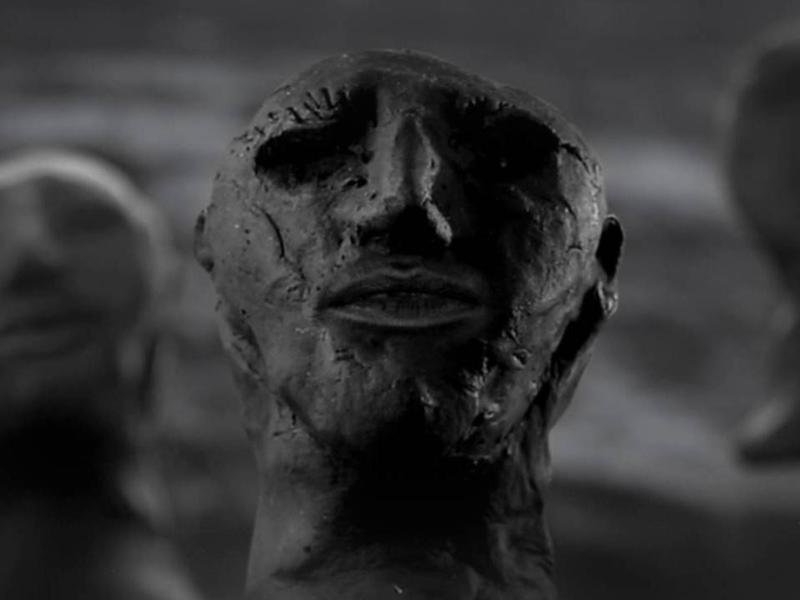 """A still from Hope Sandoval's """"Let Me Get There"""" video."""