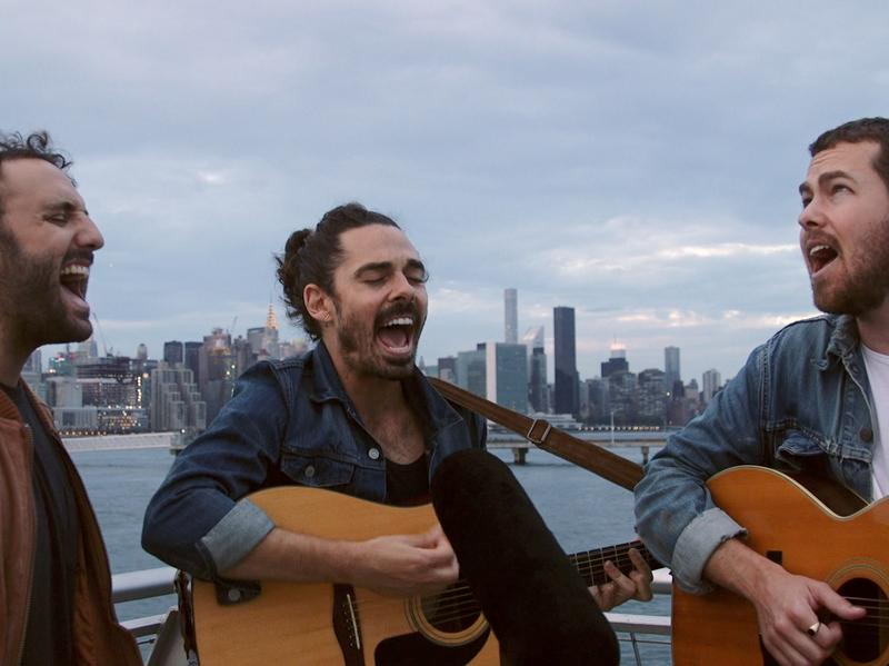 Local Natives plays a Field Recording at WNYC Transmitter Park.