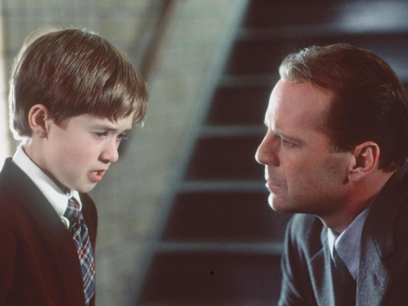 Bruce Willis (right) and Haley Joel Osment starred in <em>The Sixth Sense</em>, where Osment's character had a sixth sense that allowed him to see dead people. It turns out there is a sixth sense, but it's not seeing dead people it's actually body awareness and intuition.