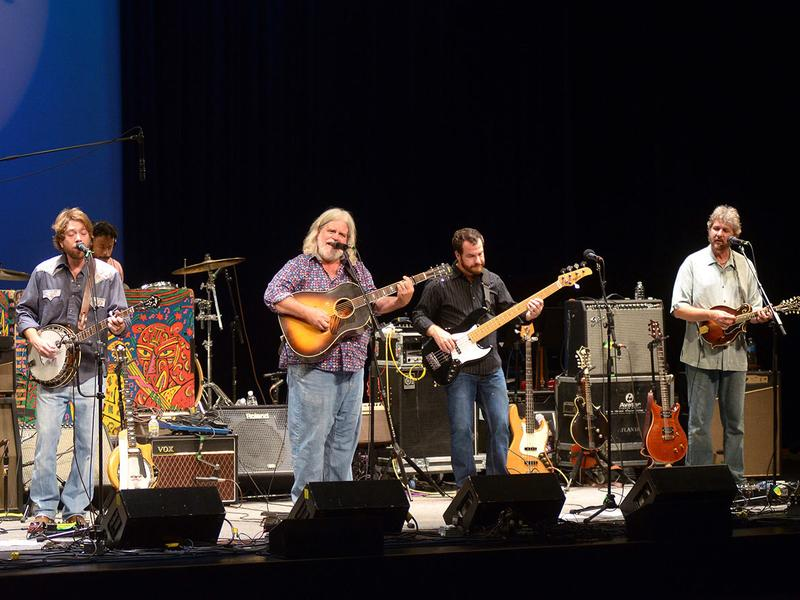 Leftover Salmon performs on <em>Mountain Stage</em>.