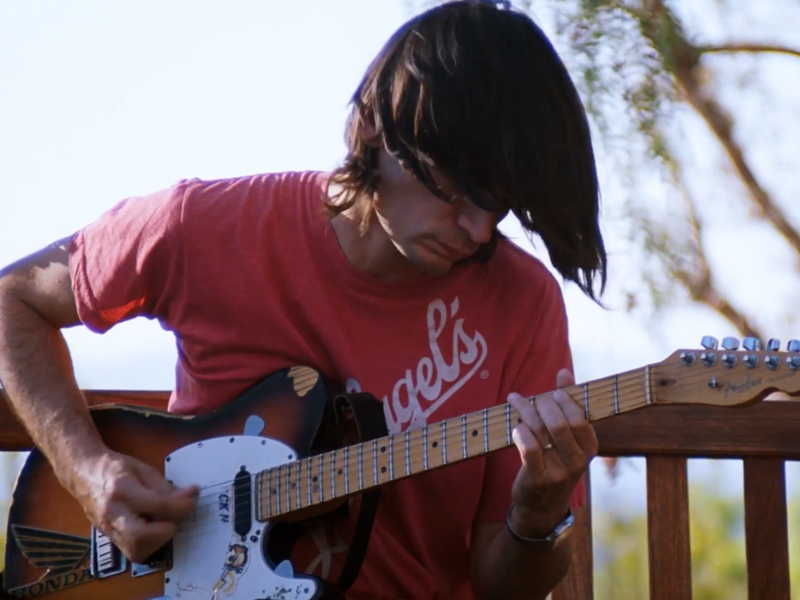 """Jonny Greenwood performs in a scene from Radiohead's new video for the song """"The Numbers."""""""