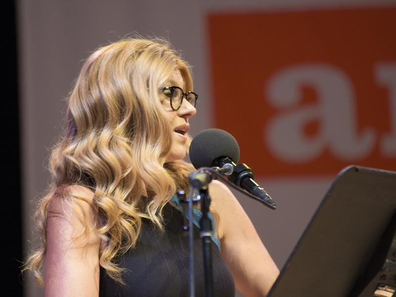 Connie Britton on Ask Me Another.