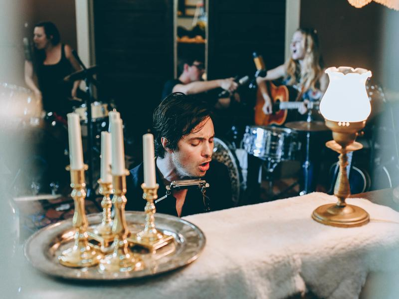 Shovels and Rope collaborate with Margo Price at the Luck Mansion in East Nashville.