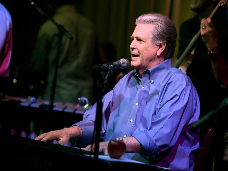Brian Wilson performs in Los Angeles in 2015. He's currently on tour, celebrating the 50th anniversary of the Beach Boys' <em>Pet Sounds</em>.