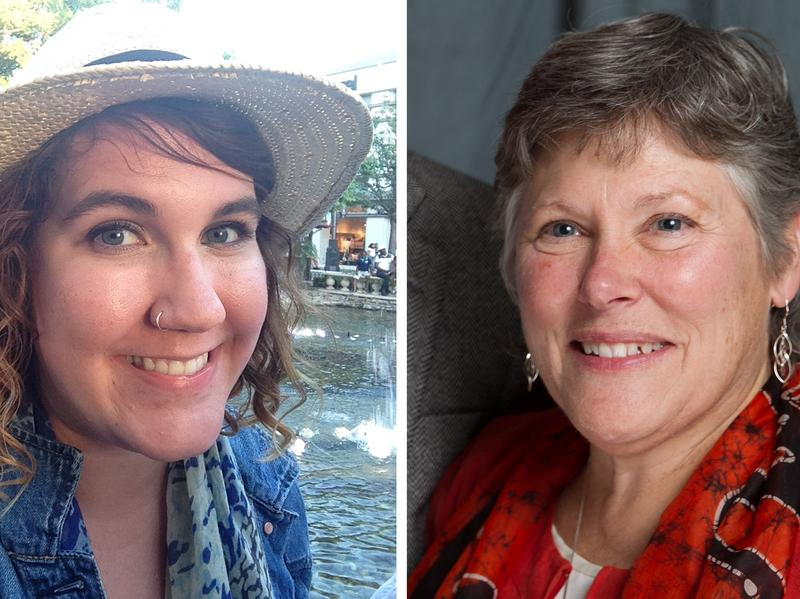 Kristen Daniels (left) is considering becoming a Catholic nun. Sister Donna Del Santo faced the same situation when she was 38 and offers some advice for Kristen as she considers entering the discernment process.