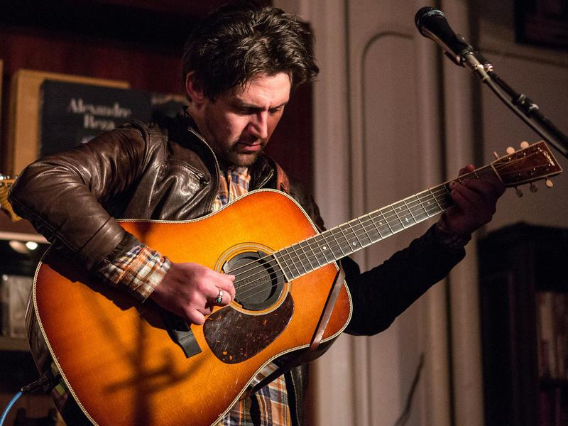 Conor Oberst performs at Housing Works Bookstore in New York, N.Y.