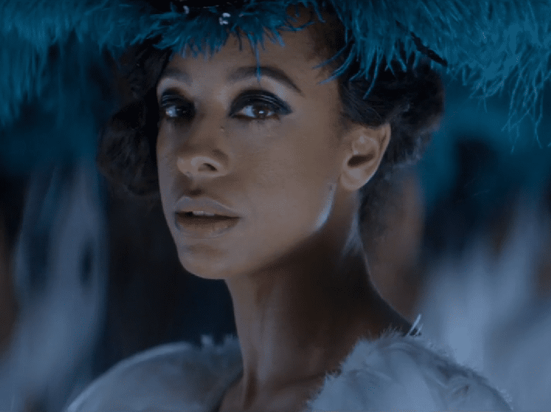 """Corinne Bailey Rae in her video for """"Hey, I Won't Break Your Heart."""""""