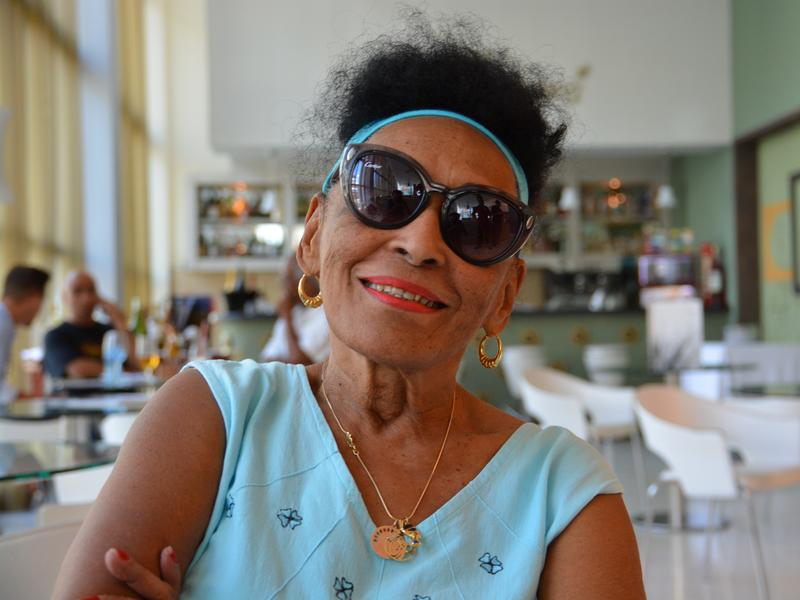 "Omara Portuondo will turn 86 during her current tour of the U.S. ""I'm not a little girl,"" she says, laughing, ""but I <em>feel</em> like a little girl."""