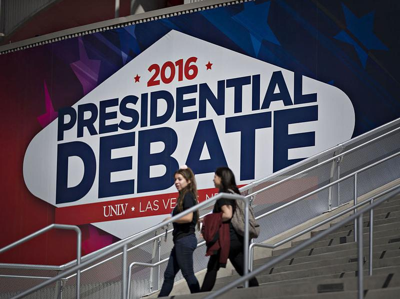 The final presidential debate is Wednesday night on the campus of the University of Nevada, Las Vegas (UNLV) in Las Vegas.