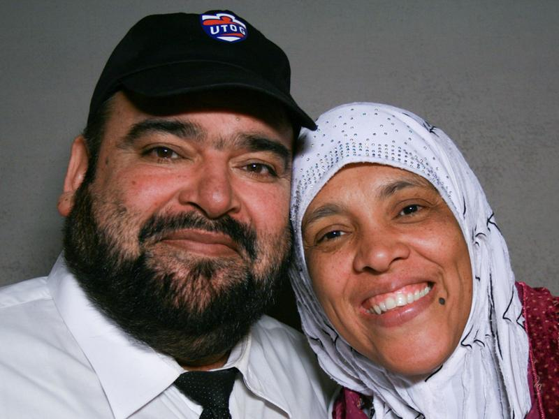 Tariq and Tabinda Sheikh, on a visit with StoryCorps.