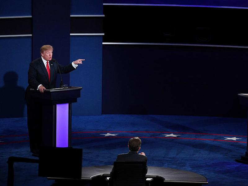 Donald Trump and Hillary Clinton met at the University of Nevada, Las Vegas on Wednesday night for the final presidential debate of 2016.