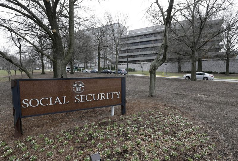 In this Jan. 11, 2013 file photo, the Social Security Administration's main campus is seen in Woodlawn, Md. (Patrick Semansky/AP)