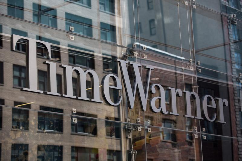 Time Warner Cable headquarters are seen in Columbus Circle on May 26, 2015 in New York City. (Andrew Burton/Getty Images)