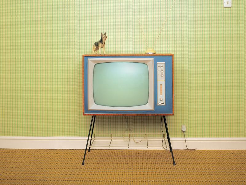 Television set.