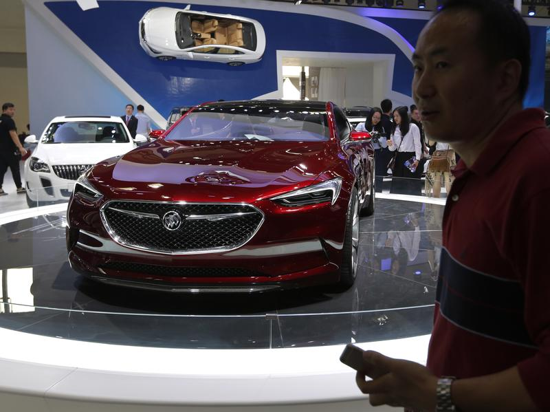 A Buick Avista concept car is exhibited in Beijing in April. Buick, which sells a large percentage of its cars in China, is No. 3 in <em>Consumer Reports</em>' latest reliability rankings.