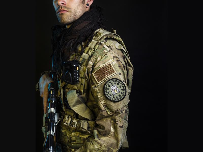 <em>Mother Jones</em> reporter Shane Bauer went undercover with the Three Percent United Patriots border militia group.