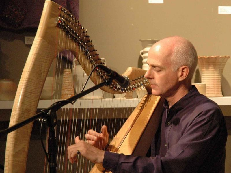 This week's show includes music from composer and harpist William Jackson.