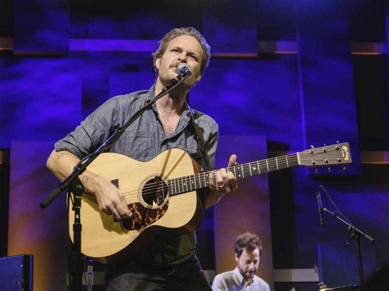 """Hiss Golden Messenger performs live in Philadelphia for a WXPN """"Free At Noon"""" concert."""