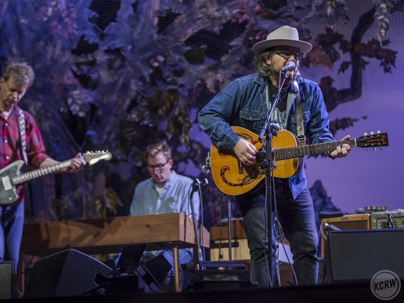 Wilco performs onstage at The Theatre at Ace Hotel in Los Angeles.
