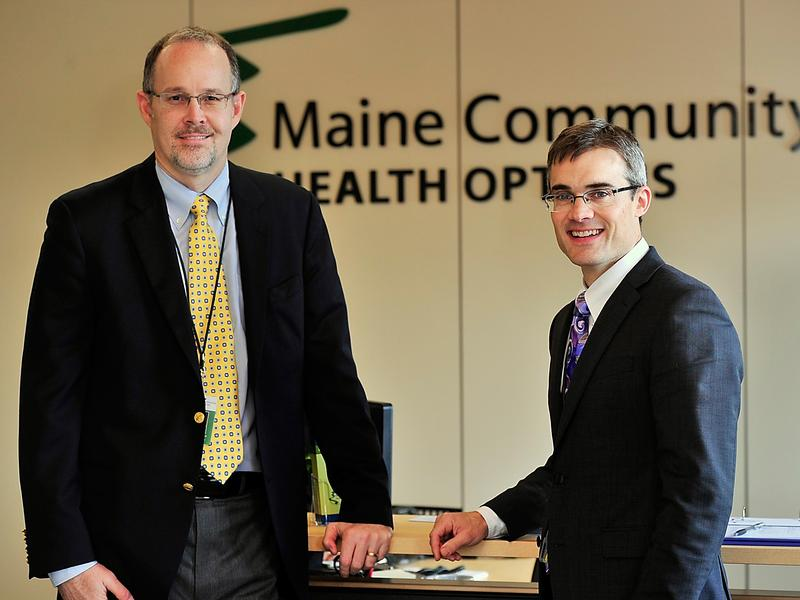 Community Health Options founders COO Robert Hillman (left) and CEO Kevin Lewis seen in 2013 when the co-op began offering coverage.