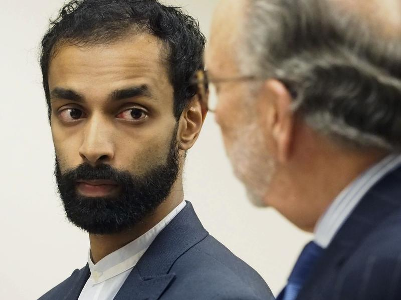 Dharun Ravi appears in Middlesex County Superior Court, in New Brunswick, N.J. He pleaded guilty to the attempted invasion of privacy of his Rutgers roommate, Tyler Clementi, who killed himself in 2010.