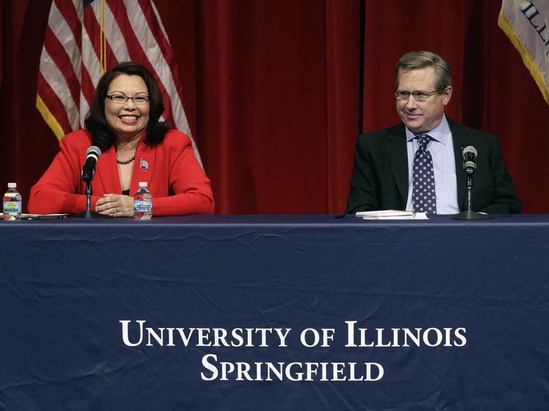 Democratic Rep. Tammy Duckworth and GOP Sen. Mark Kirk faced off in their second Illinois Senate debate Thursday night.