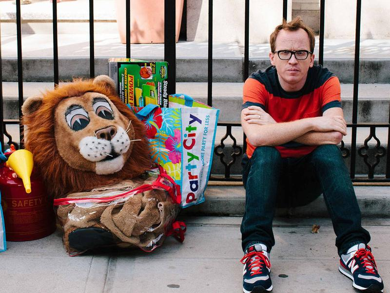 Chris Gethard co-stars in Comedy Central's <em>Broad City</em> and in Mike Birbiglia's film<em> Don't Think Twice. </em>His one-man show, <em>Career Suicide,</em> details his experiences with depression.