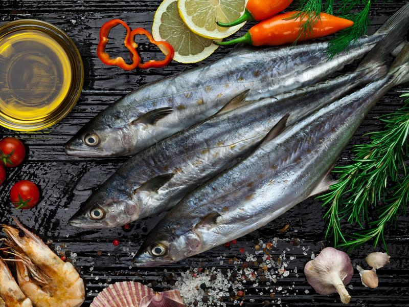 Americans are often chastised for what we eat. Now we're getting a pat on the back. A new report finds seafood consumption is up by nearly a pound from the previous year, the biggest leap in 20 years.