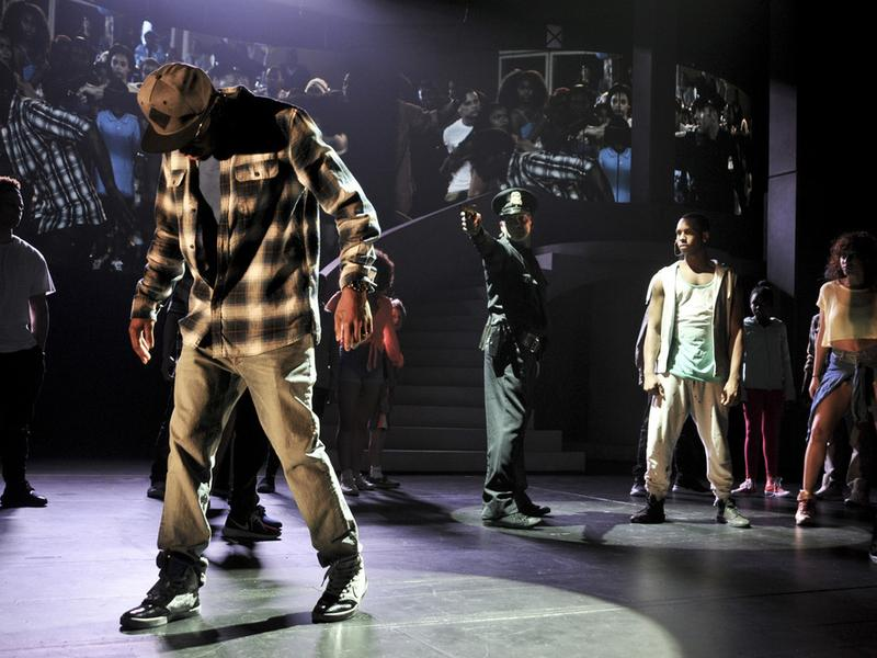 Debbie Allen's <em>FREEZE FRAME...Stop the Madness</em> is a musical featuring dance, video and visual art that explores gun violence in cities.