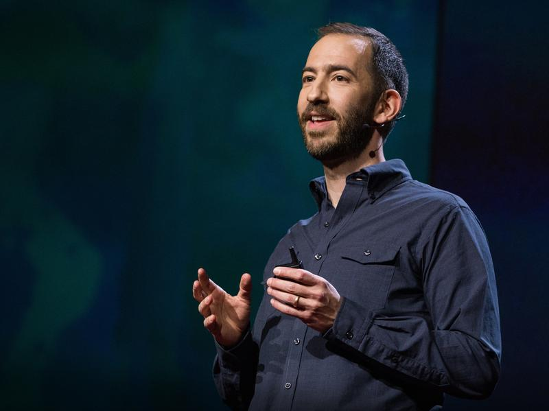 Jonathan Tepperman speaks at TEDSummit in 2016.