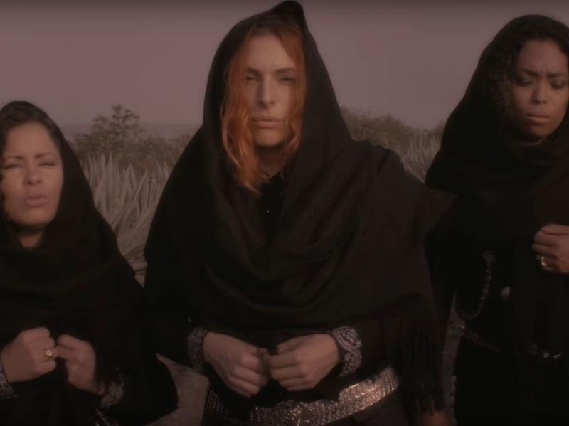 """Mariachi Flor de Toloache in a scene from their new video for """"La Llorona."""""""