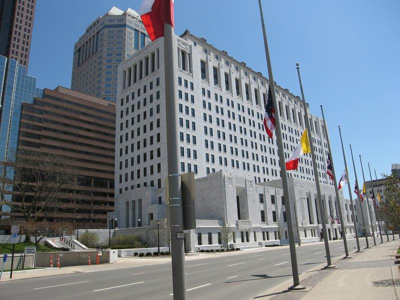 The Supreme Court of Ohio building in Columbus, Ohio. The state is holding a judicial election next week. (Just Deon/Flickr)