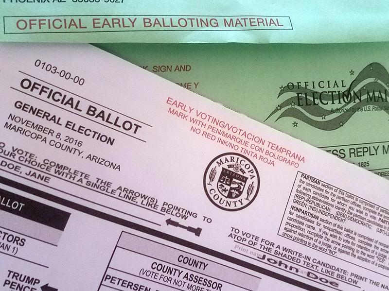 """Democrats argued that the ban on what critics call """"ballot harvesting"""" would suppress the vote, particularly among minorities."""