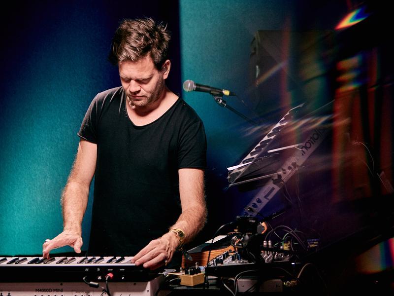 Danish producer Trentemøller performs live for KCRW.